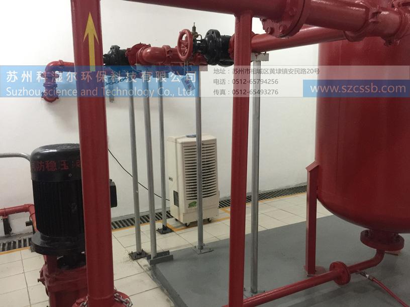 水泵房除湿机应用场景